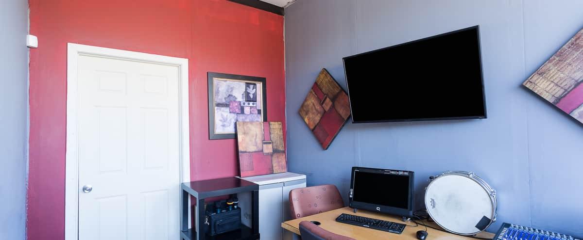 Meeting Space Music Studio with Full Back-Line Digital Rehearsal and Recording in Atlanta Hero Image in East Atlanta, Atlanta, GA