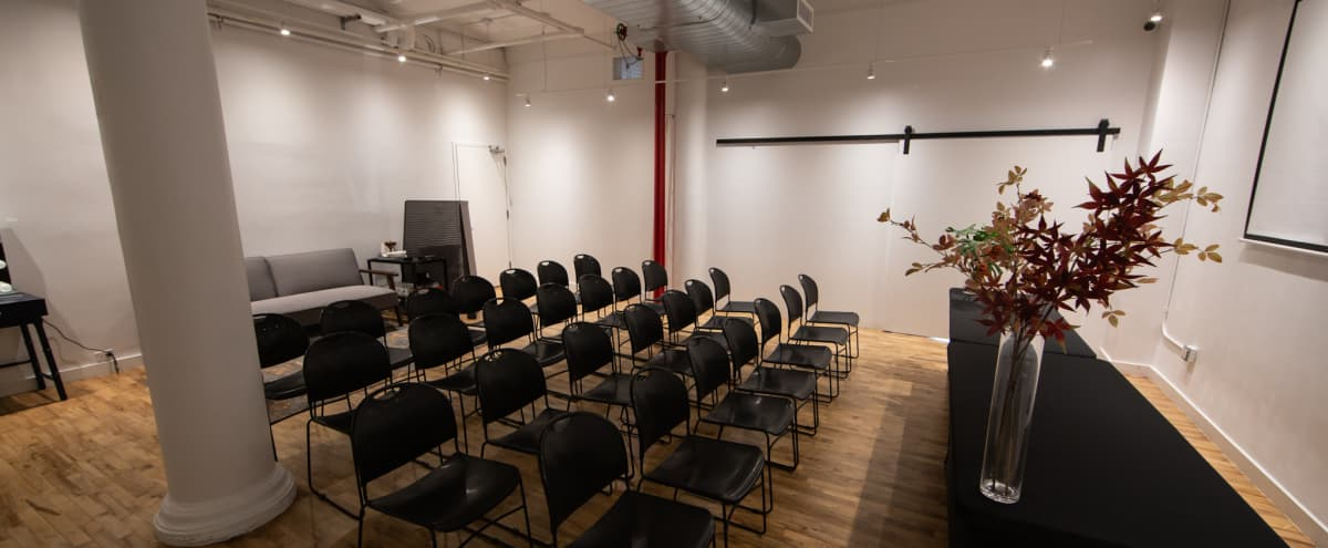 SoHo Multi-Use Meeting Room in New York Hero Image in SoHo, New York, NY