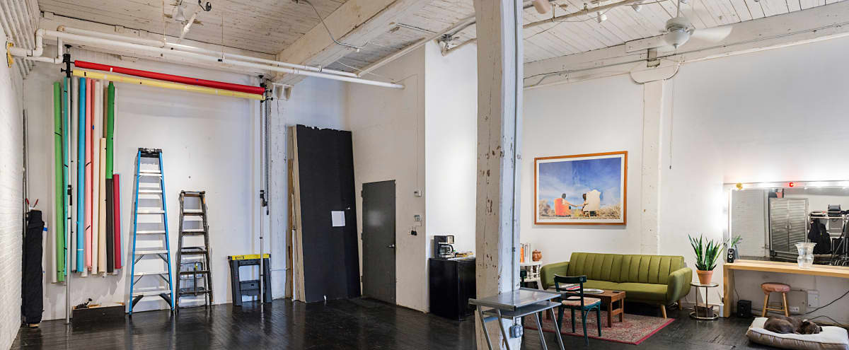 Brooklyn Photo Studio Ideal for Still Life, Look Book, Portaits, Etc in Brooklyn Hero Image in East Williamsburg, Brooklyn, NY