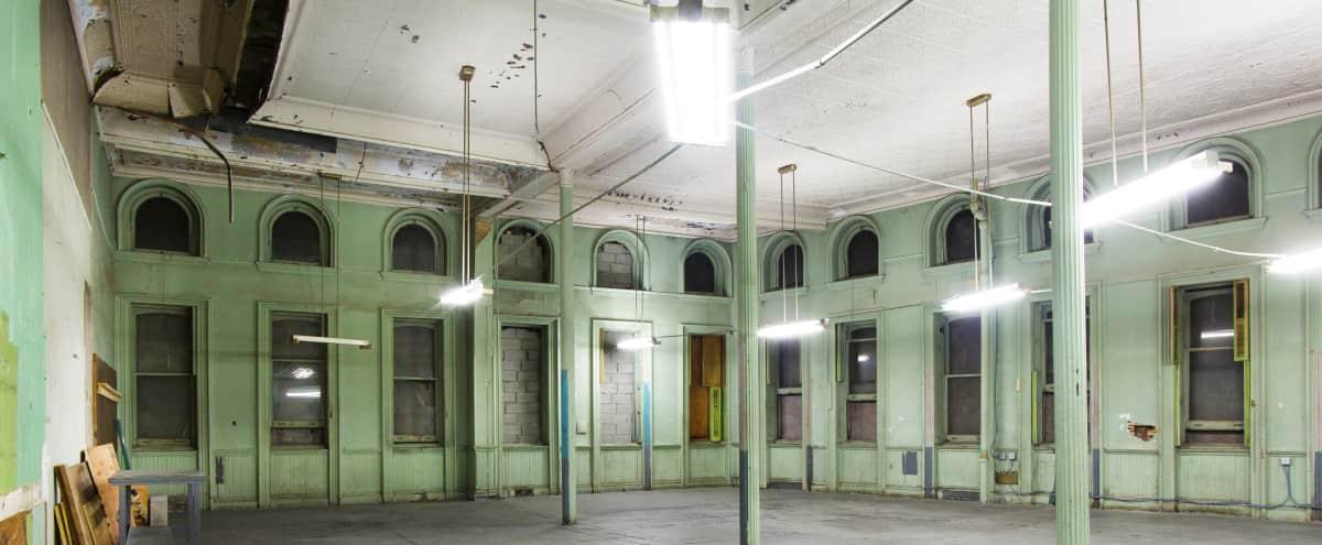 Wide Open & Raw Space - Industrial and Ornate in Brooklyn in Brooklyn Hero Image in Bedford-Stuyvesant, Brooklyn, NY