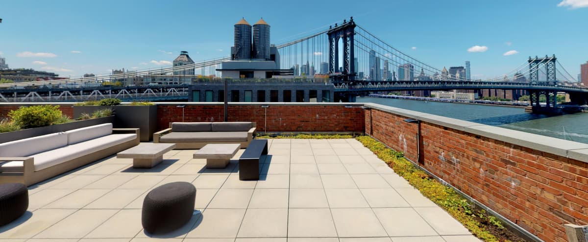 DUMBO Rooftop with Skyview in Brooklyn Hero Image in Dumbo, Brooklyn, NY