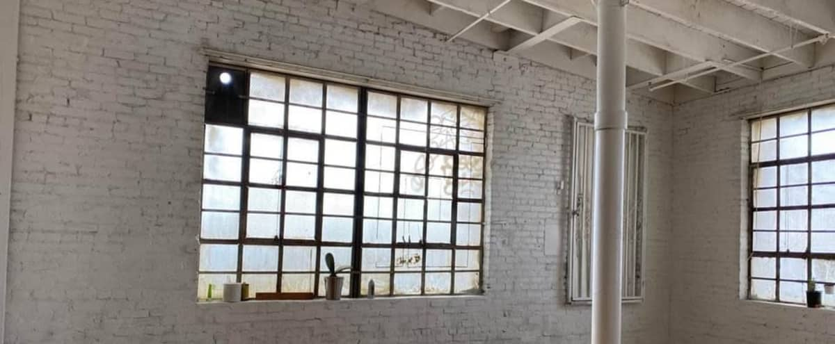 Downtown Warehouse with Brick walls and Wooden Floors in Los Angeles Hero Image in Central LA, Los Angeles, CA
