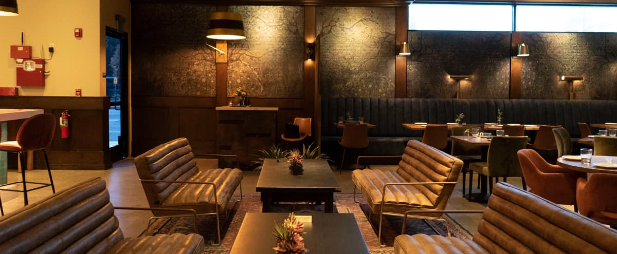 Elegant Toluca Lake Eatery Ideal  for Luxe Events and Film Shoots in Los Angeles Hero Image in Toluca Lake, Los Angeles, CA
