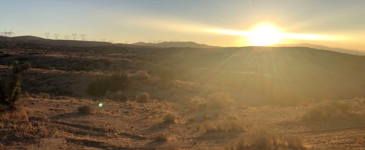 Desert home in foothills of AV with spectacular 360 view in Palmdale Hero Image in undefined, Palmdale, CA