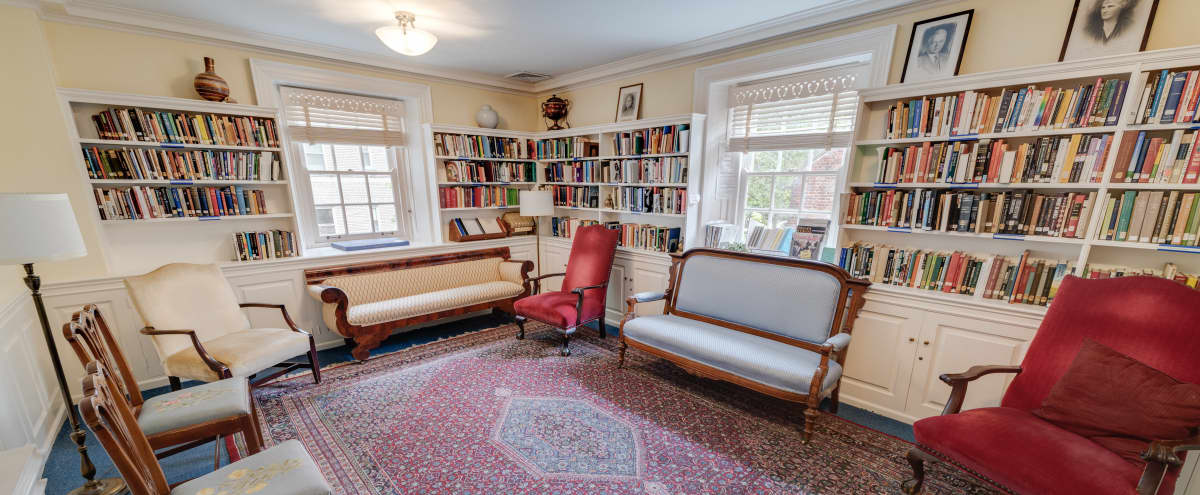 Intimate Library and Parlor in Historic Building in WASHINGTON Hero Image in Kalorama Heights, WASHINGTON, DC