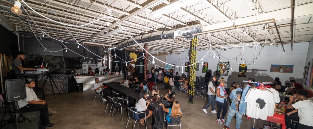 Multi-Use Warehouse Studio, Production Space & Venue in Nashville Hero Image in East Nashville, Nashville, TN