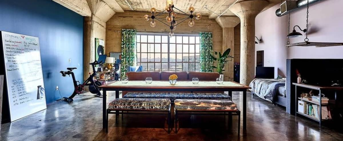 Downtown Loft in Arts District in Los Angeles Hero Image in Central LA, Los Angeles, CA