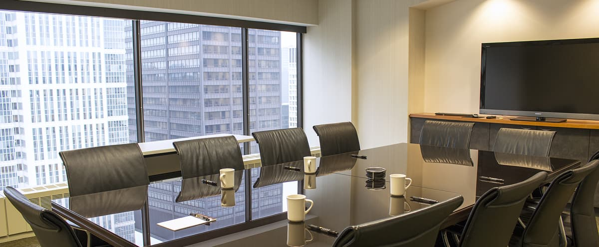 Executive Boardroom in the Chicago Loop in Chicago Hero Image in Chicago Loop, Chicago, IL