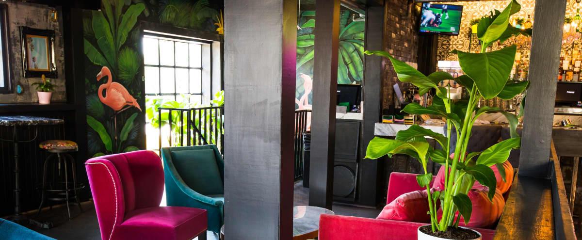 Second Floor Restaurant Buyout | Roof Patio & Indoor Lounge in Houston Hero Image in Hyde Park, Houston, TX