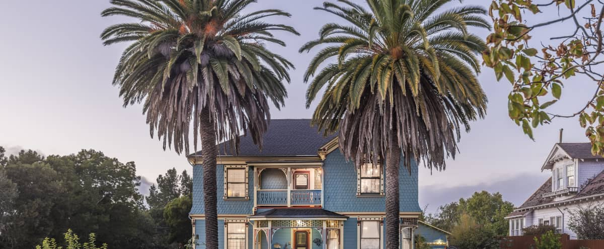Historic Victorian Mansion with Updated Decor in Petaluma Hero Image in undefined, Petaluma, CA