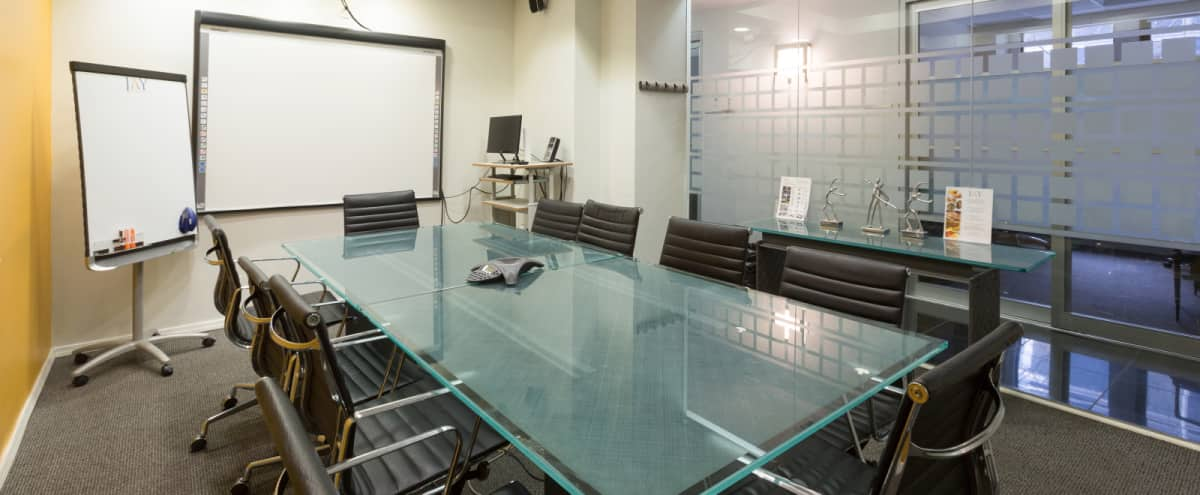 Comfortable Conference Room for 10 People with Projector by Grand Central  - GC in New York Hero Image in Midtown, New York, NY