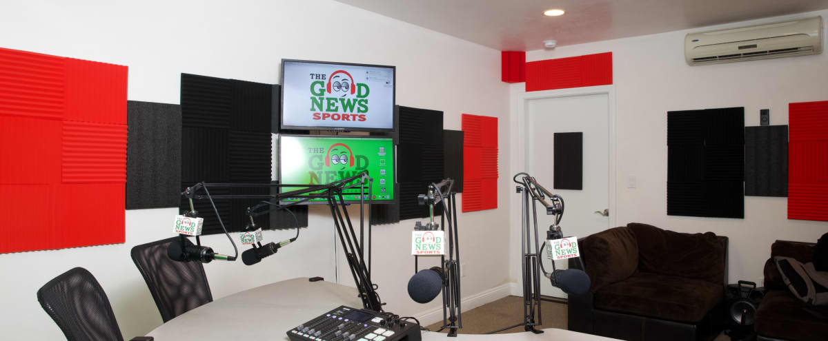 Stylish South Bay Podcast & Recording studio in Hawthorne Hero Image in undefined, Hawthorne, CA