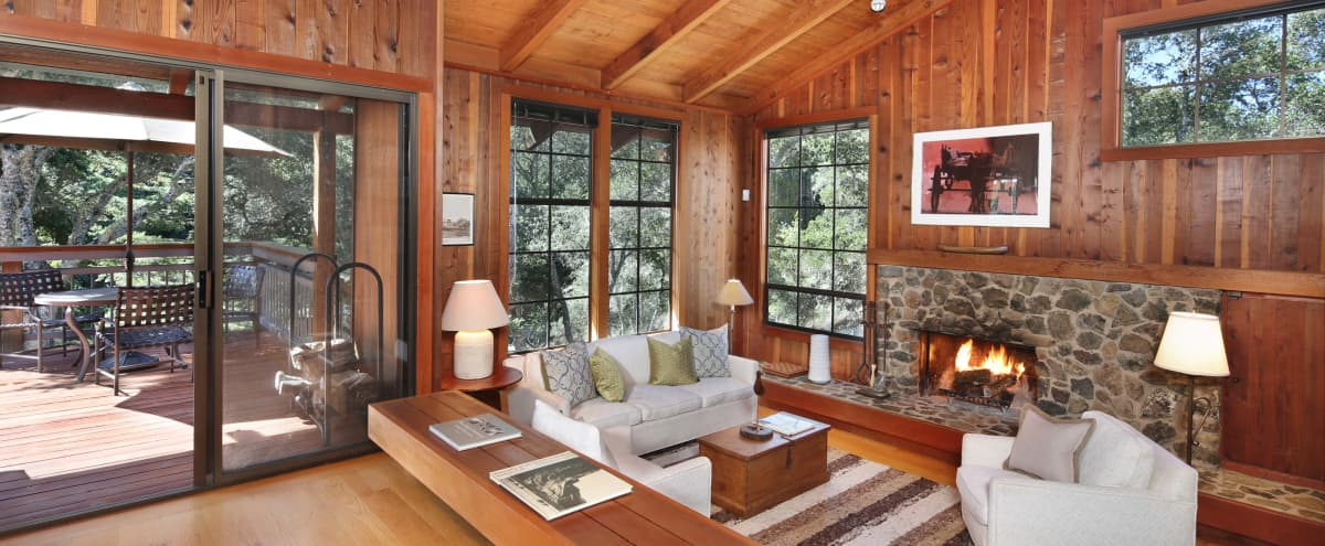 Mountain retreat 5 mins from downtown Redwood City. in Woodside Hero Image in undefined, Woodside, CA