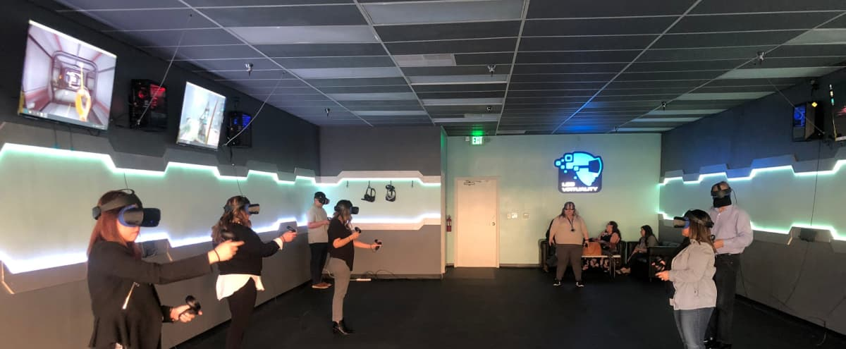 Spacious Virtual Reality studio that can host events for 40 people in Santa Ana Hero Image in South Coast Metro, Santa Ana, CA
