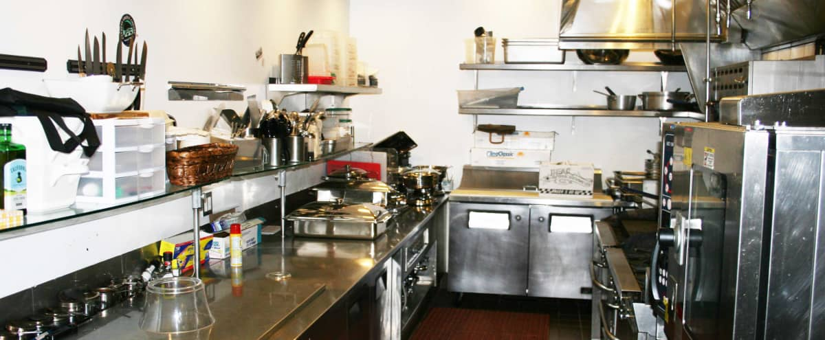 Commercial Kitchen With All Amenities in Menlo Park Hero Image in Linfield Oaks, Menlo Park, CA