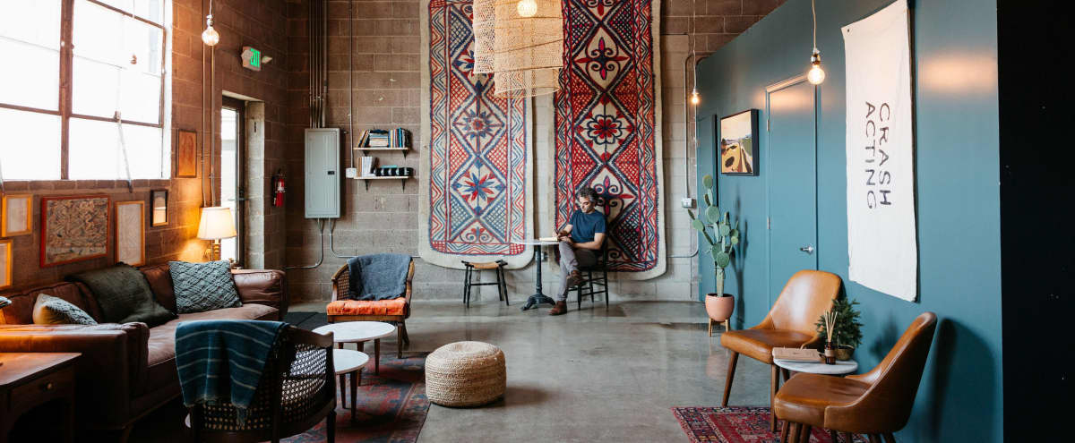 Eclectic Mid-City Warehouse with Amazing Lighting in Los Angeles Hero Image in Pico Union, Los Angeles, CA