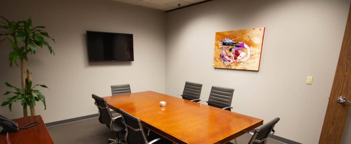 Clean Meeting Room in Secure Building in Houston Hero Image in Downtown, Houston, TX