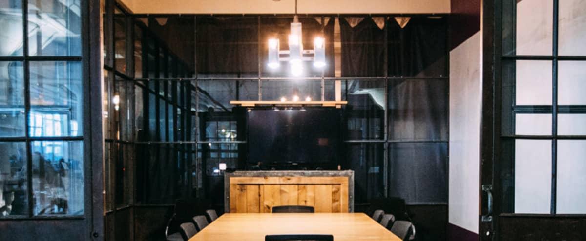 Private 12 Person Meeting Room in Creative Workspace Uptown in Minneapolis Hero Image in Lyn-Lake, Minneapolis, MN