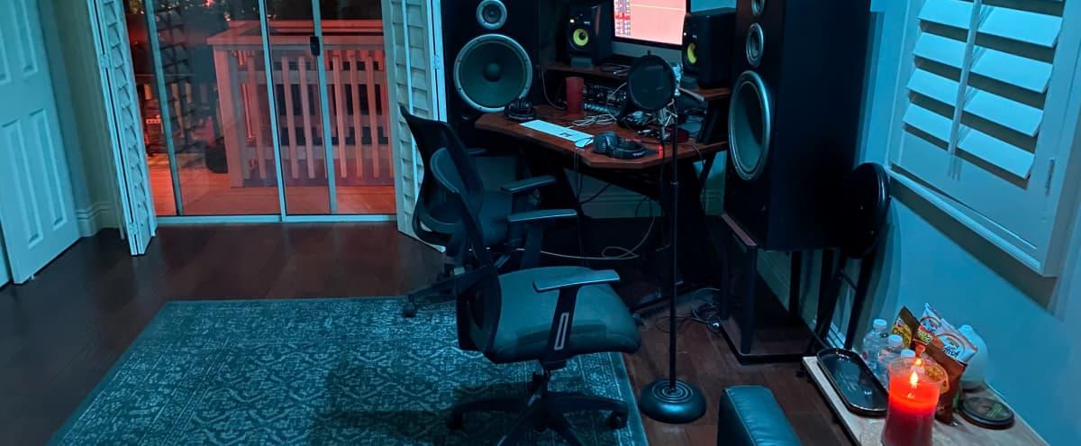 Music Recording Studio in Hills with Scenic View - Studio C in Studio City Hero Image in Studio City, Studio City, CA