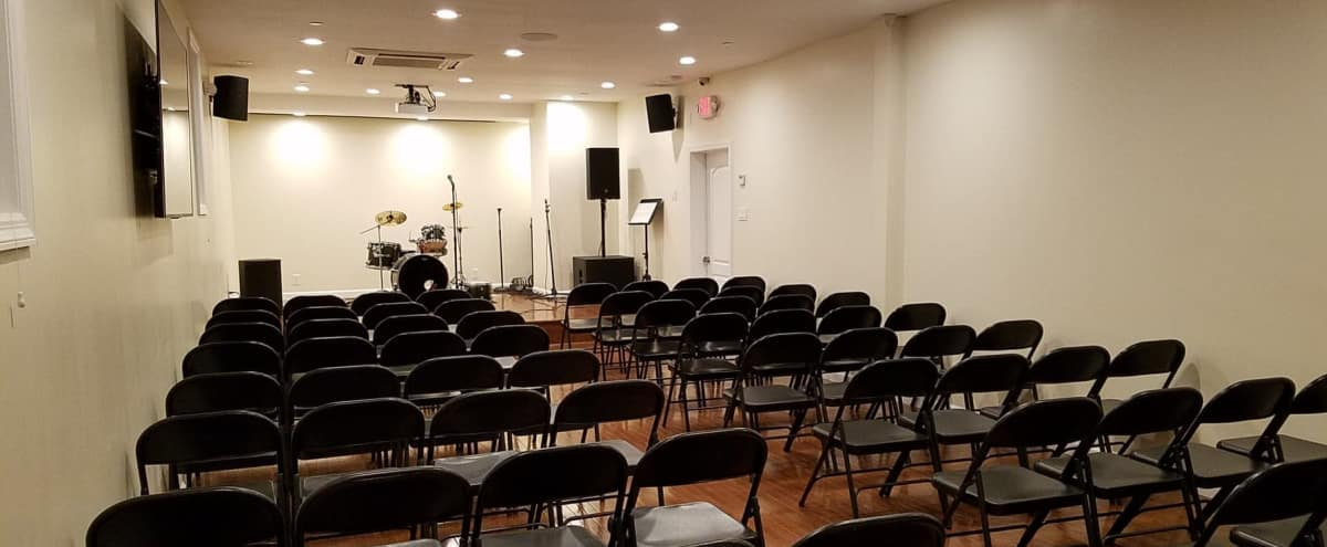 Roomy Event Space with Stage in Queens Village Hero Image in Queens Village, Queens Village, NY