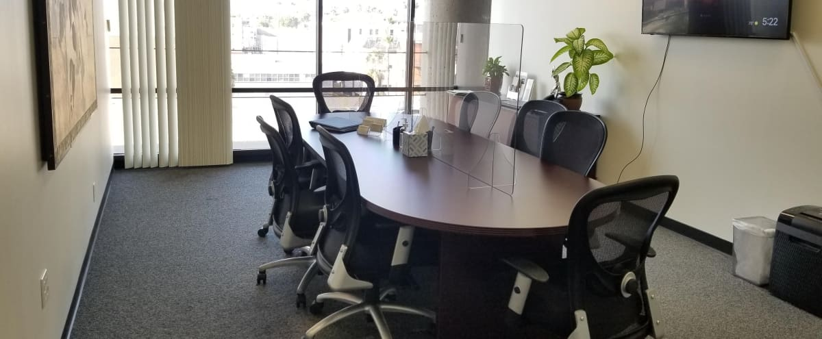 Ktown Modern Offices W/ Conference Room Views Of Hollywood Sign in Los Anglees Hero Image in Central LA, Los Anglees, CA