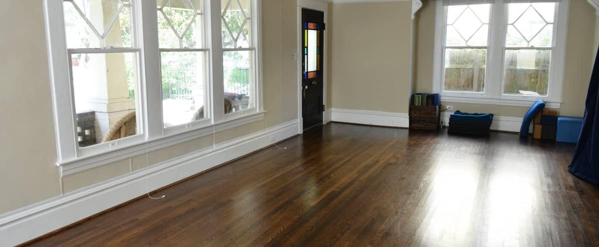 Homey Yoga Studio in Spacious 1930s Bungalow in Houston Hero Image in Montrose, Houston, TX