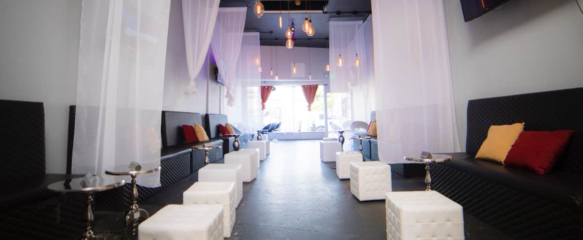 Mid City Lounge with incredible lighting in Los Angeles Hero Image in Central LA, Los Angeles, CA