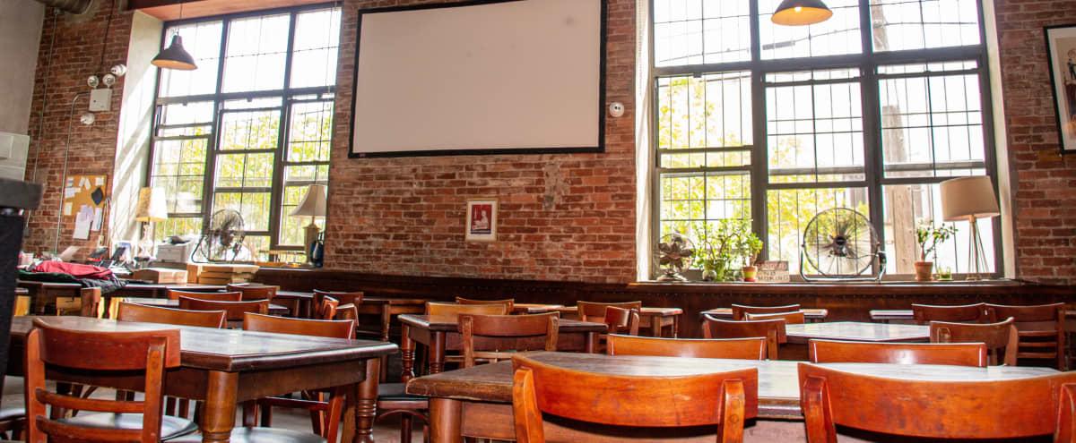 Industrial & Rustic Brickoven Pizzeria Restaurant in Ridgewood Hero Image in Ridgewood, Ridgewood, NY