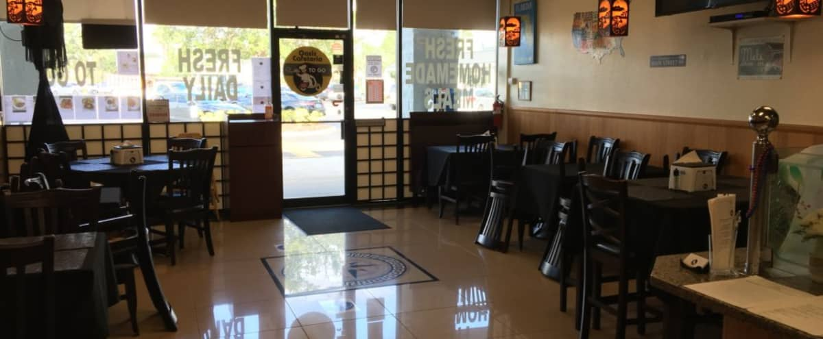 Small clean restaurant near Millenia Mall for rent for special events in Orlando Hero Image in Park Central, Orlando, FL