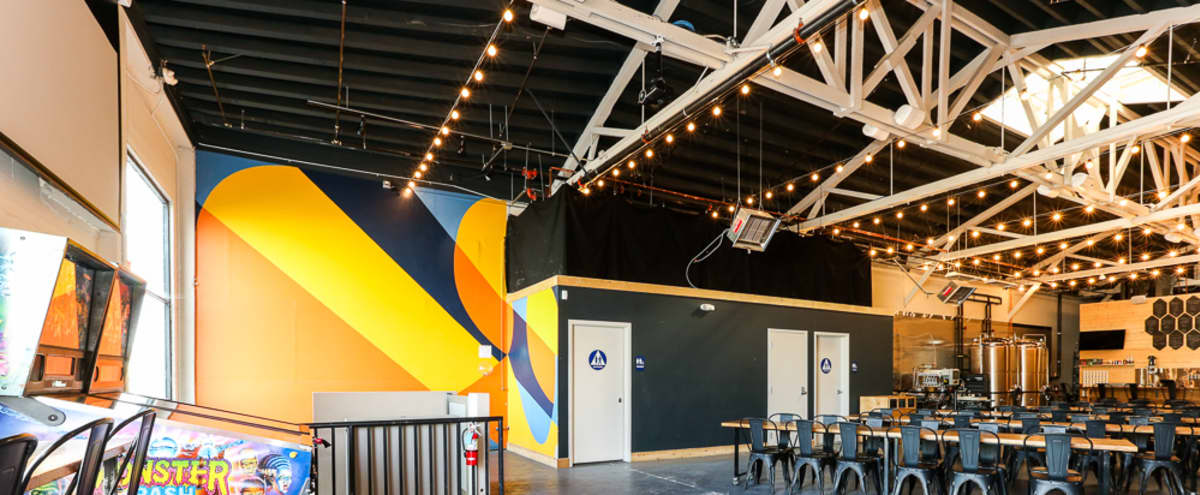 Unique Events at Geometric Industrial Brewery Tasting Room in San Francisco Hero Image in Bayview, San Francisco, CA