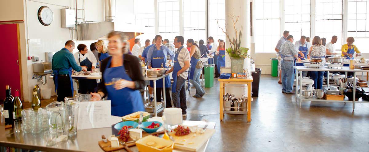 Team Building Cooking Class with Bay Views in San Francisco Hero Image in Potrero Hill, San Francisco, CA