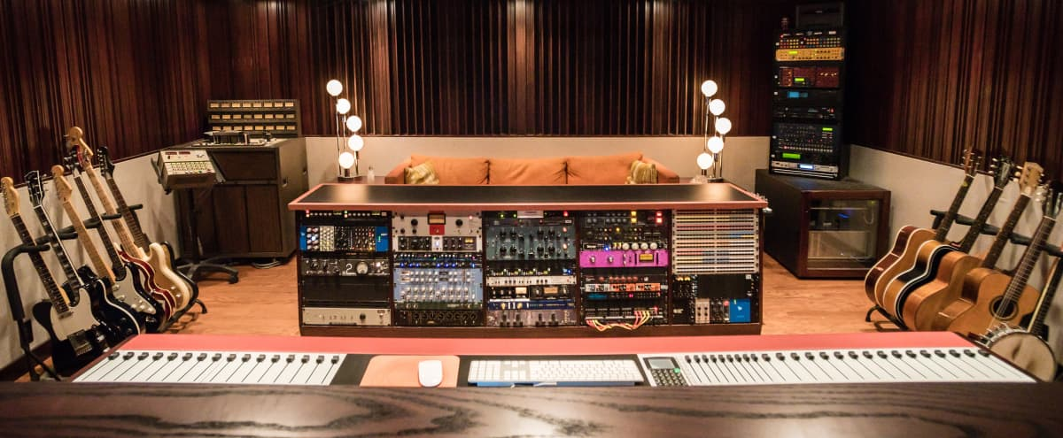 State-Of-The-Art Recording Studio with 1970's Vibe Hidden Away in Hip Neighborhood in San Diego Hero Image in North Park, San Diego, CA