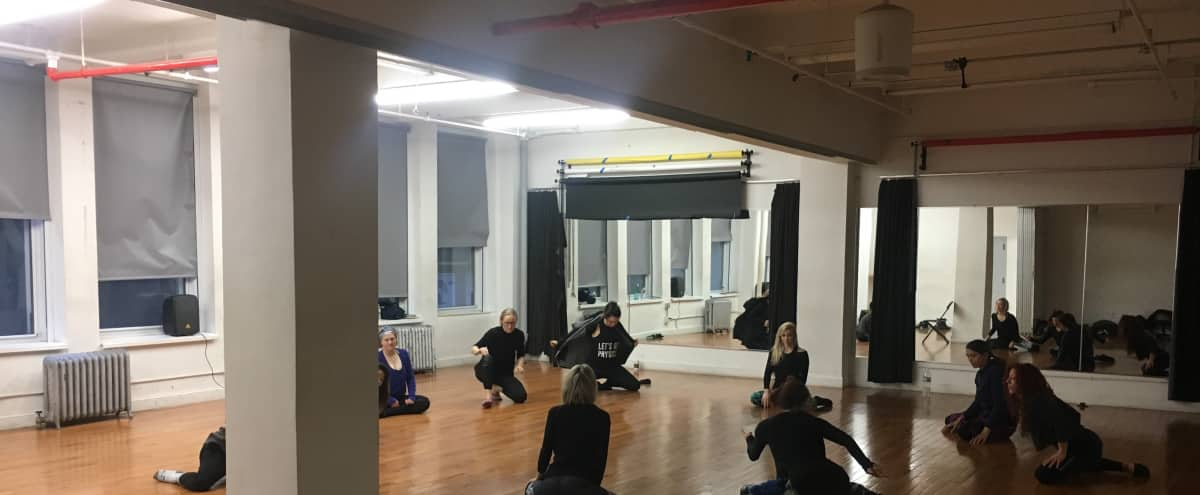 Affordable 1,350 Sq Ft Dance Studio in new york Hero Image in Midtown, new york, NY