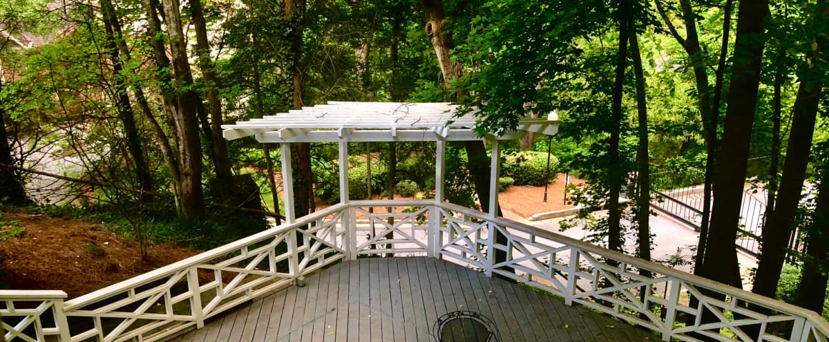 Exclusive Triple-Tier Deck with lovely view of Nature within North Buckhead in Atlanta Hero Image in North Buckhead, Atlanta, GA