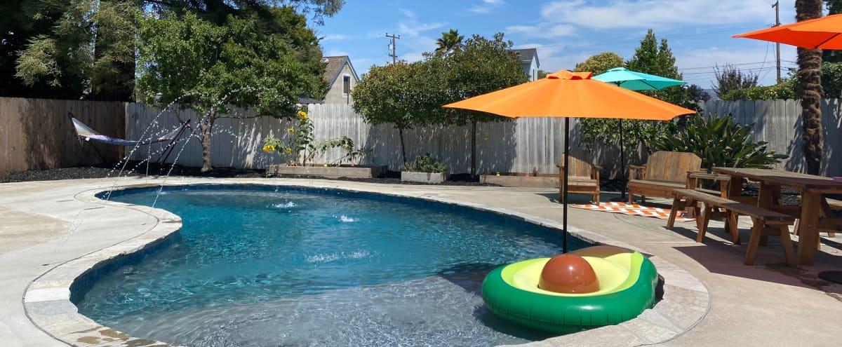 Backyard Pool Oasis in Wine Country featured on HGTV in Napa Hero Image in undefined, Napa, CA