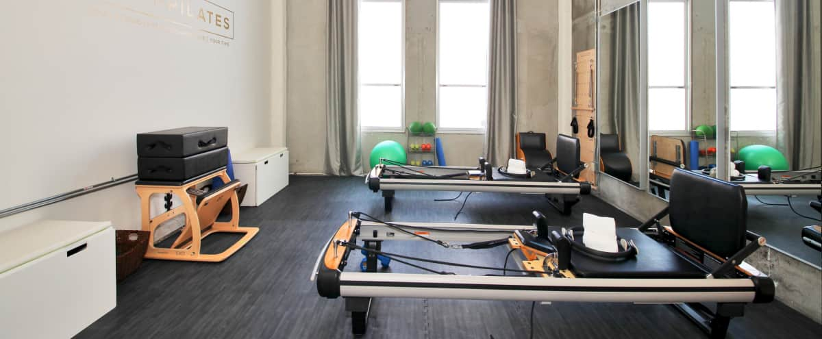 Industrial Loft Pilates Studio in Heart of Hollywood in Los Angeles Hero Image in Central LA, Los Angeles, CA