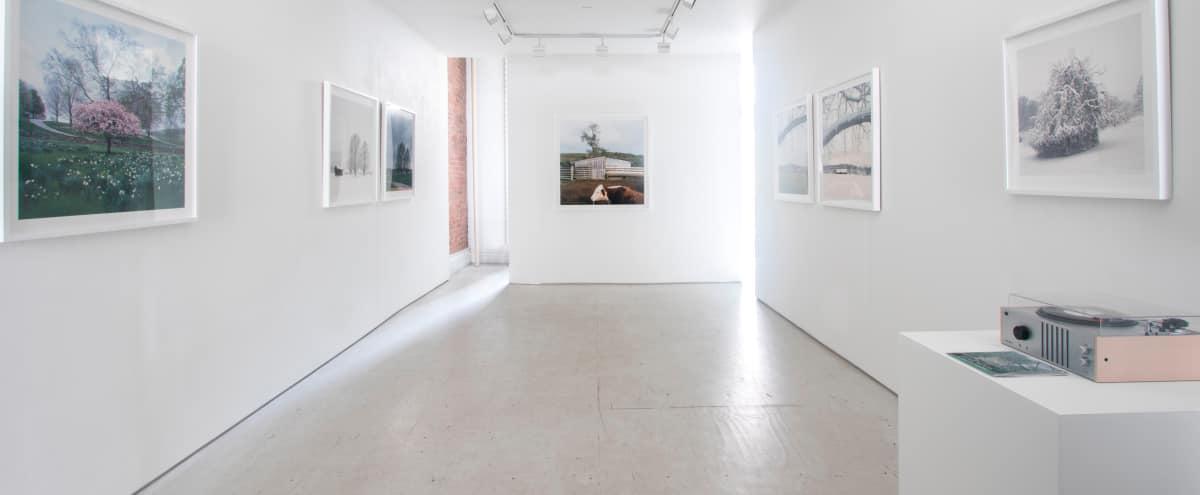 Groovy Elegant Urban Gallery Space & Roof Terrace in New York Hero Image in Midtown, New York, NY
