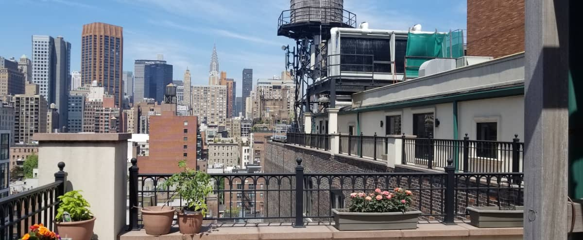 Penthouse with Beautiful Terraces in New York Hero Image in Midtown, New York, NY