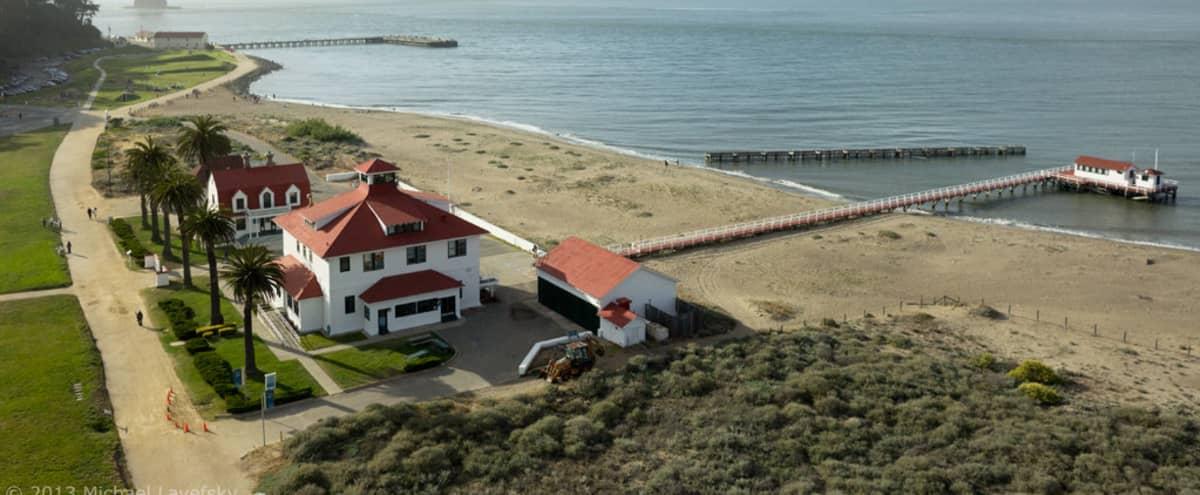Event Space at Crissy Field Historic Pier House in San Francisco Hero Image in Presidio, San Francisco, CA