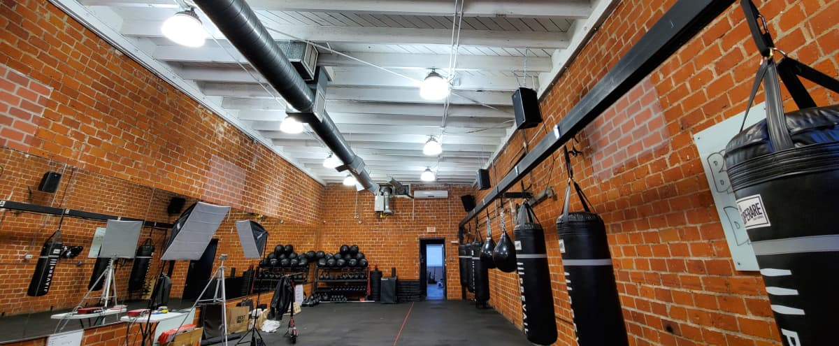 West Hollywood Boxing & Fitness Gym with modern look meets old school brick in LOS ANGELES Hero Image in Central LA, LOS ANGELES, CA