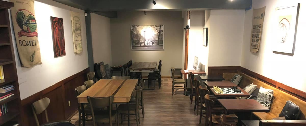 Private Event Space in Spacious Coffee House with Comfortable Vibe in Tacoma Hero Image in undefined, Tacoma, WA