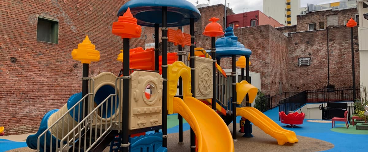 Private playground in SF North Beach/FIDI/Chinatown in San Francisco Hero Image in Chinatown, San Francisco, CA