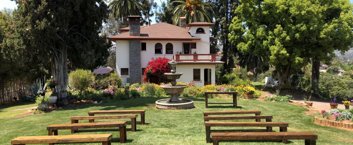 Beautiful 1895 Mansion + Enchanting 2 Acre Garden + Barn. (Best Value for the Price on Peerspace) in Lakeside Hero Image in undefined, Lakeside, CA