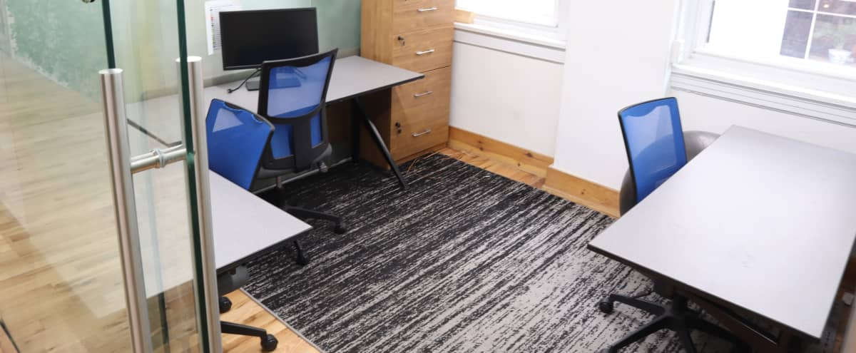 Private 4 Person Office / Meeting Space (C) in Philadelphia Hero Image in Center City, Philadelphia, PA