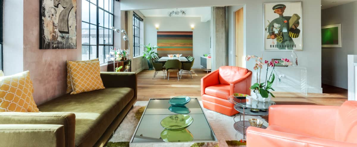 Bright Urban/Industrial Loft with a New York Feel in San Francisco Hero Image in South of Market, San Francisco, CA