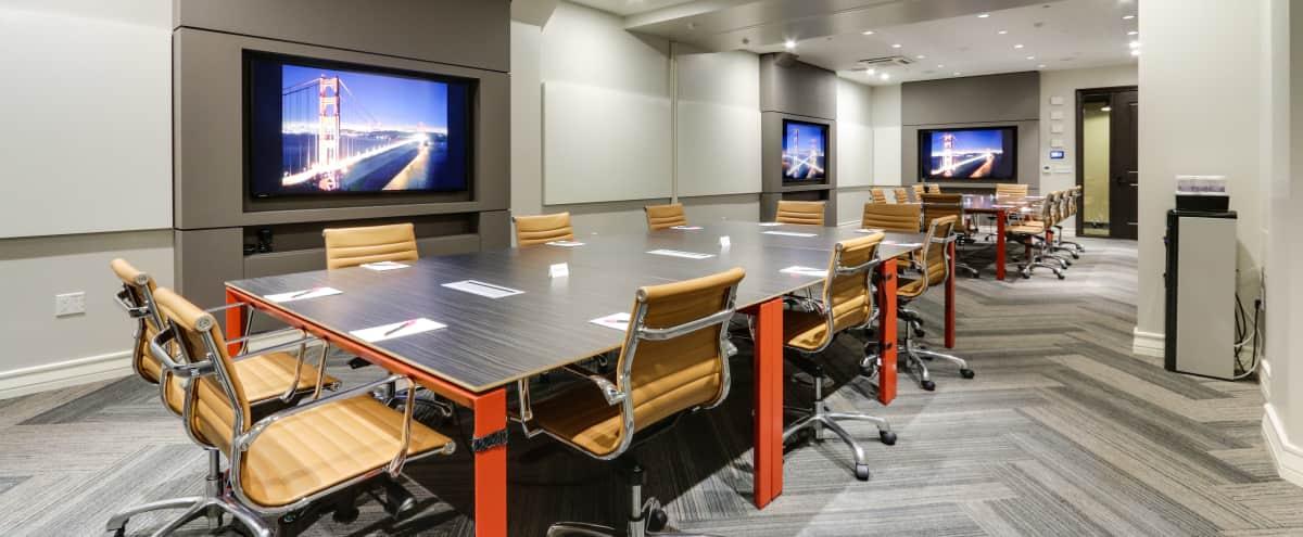 The Hub - Executive Board Room in San Francisco Hero Image in Tenderloin, San Francisco, CA