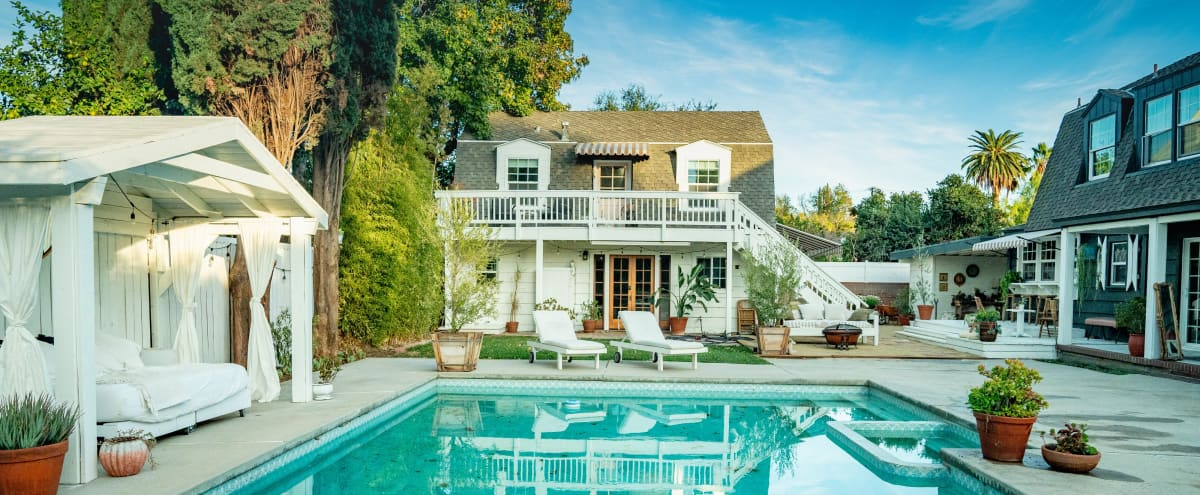 French Country Style Home With Pool And Stylish Back House Recently Featured On HGTV in VAN NUYS Hero Image in Van Nuys, VAN NUYS, CA
