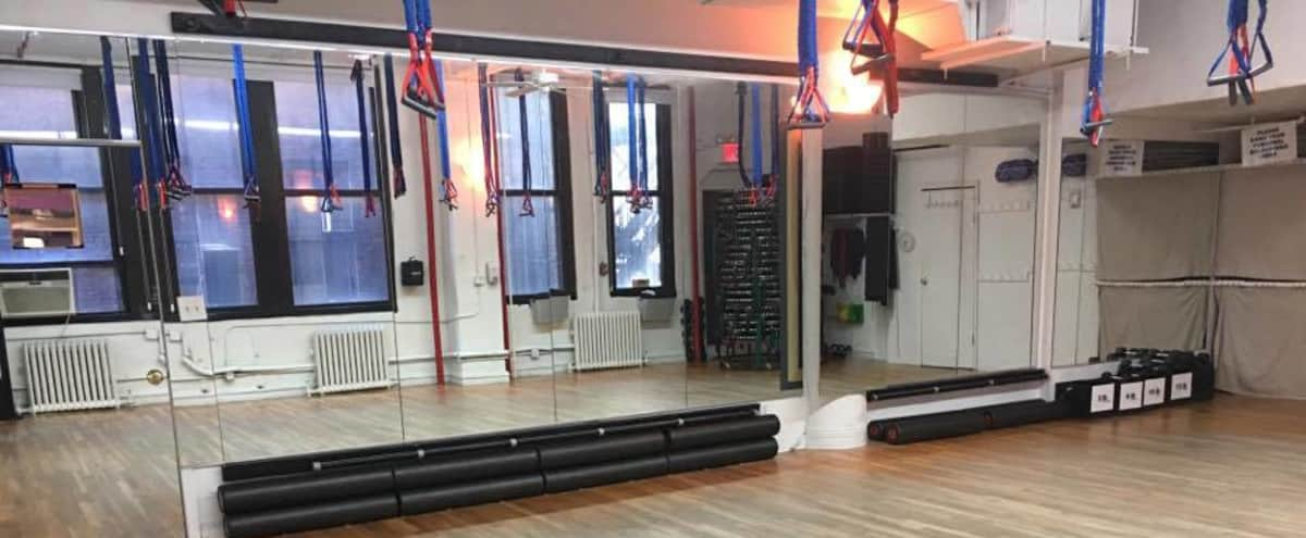Prime Location Open Studio C -  for fitness, dancing, casting calls, photo shoots, meetings, lectures, etc. in New York Hero Image in Midtown, New York, NY