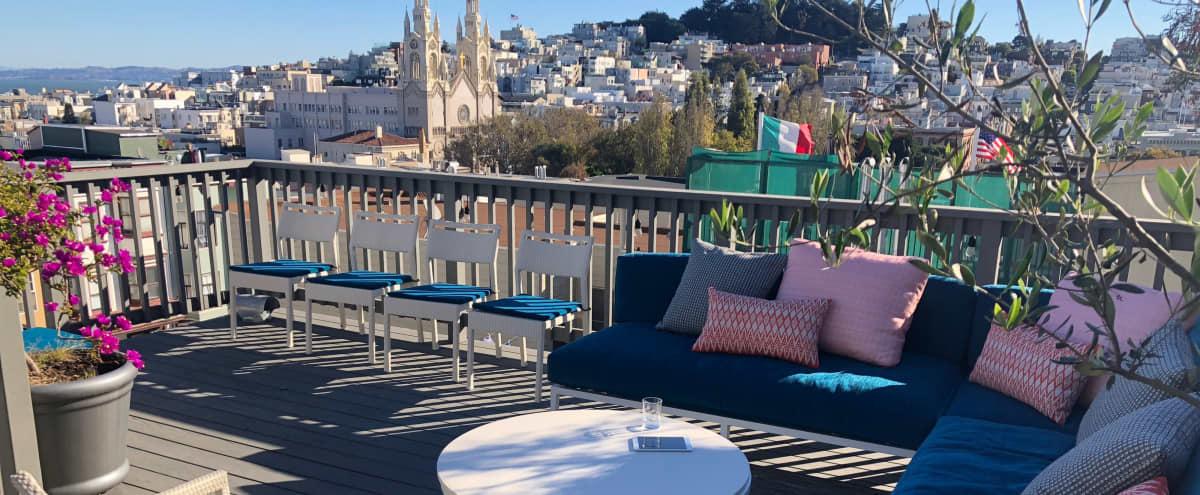 Beautiful Retreat Deck - Full Historic House in North Beach in San Francisco Hero Image in Russian Hill, San Francisco, CA