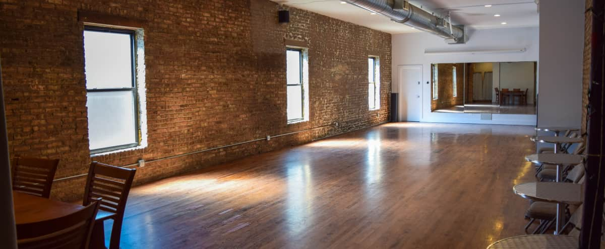 Loft studio space. in Chicago Hero Image in North Center, Chicago, IL